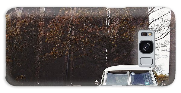 Vw Bus Galaxy Case - Splitty By The Viaducts II by Gemma Knight