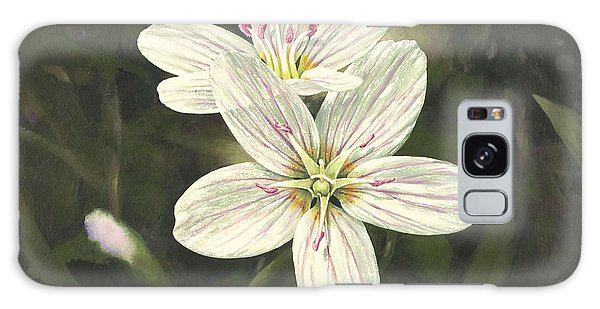 Spring Beauty Galaxy Case by Bob  George