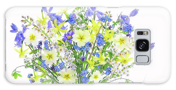 Bluebell Galaxy Case - Spring Bouquet by Jacky Parker