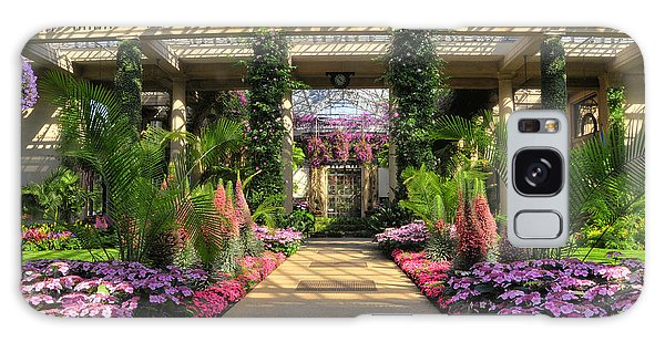 Springtime At Longwood Gardens Galaxy Case by Dan Myers