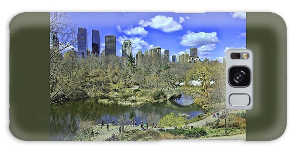 Springtime In Central Park Galaxy Case by Allen Beatty