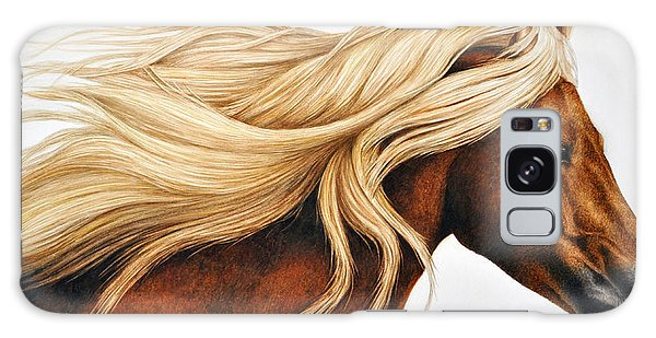 Horse Galaxy Case - Spun Gold by Pat Erickson