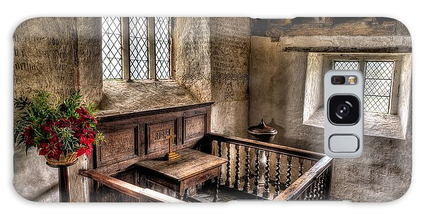 Banister Galaxy Case - St Celynnin Church by Adrian Evans