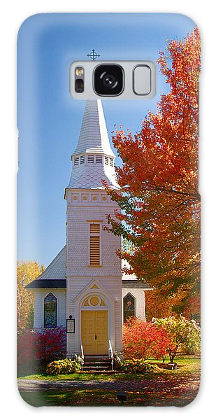 St Matthew's In Autumn Splendor Galaxy Case by Jeff Folger