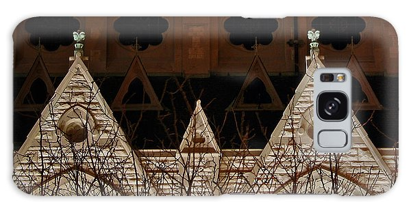 St Xavier Church Side Galaxy Case
