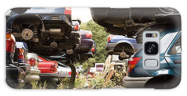 Stacked Cars Galaxy Case