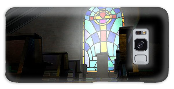 Beam Galaxy Case - Stained Glass Window Church by Allan Swart