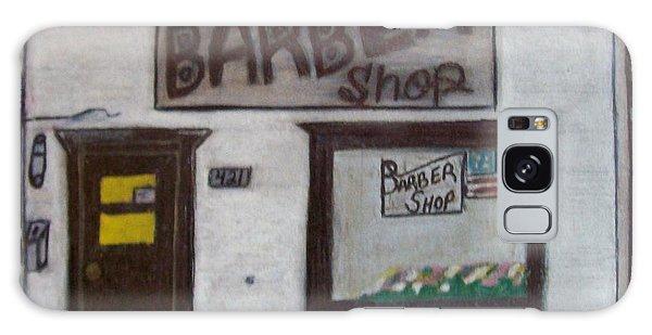 Stans Barber Shop Menominee Galaxy Case by Jonathon Hansen