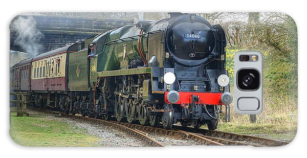 Steam Locomotive 34046 Braunton Galaxy Case