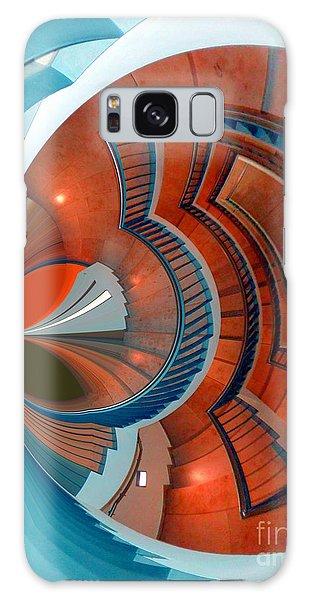 Step Galaxy Case by Nico Bielow