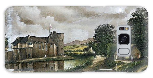 Stokesay Castle Galaxy Case