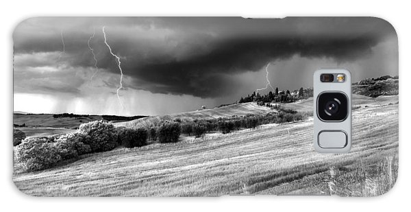 Storm Approcing The Tuscan Countryside Galaxy Case by Yuri Santin