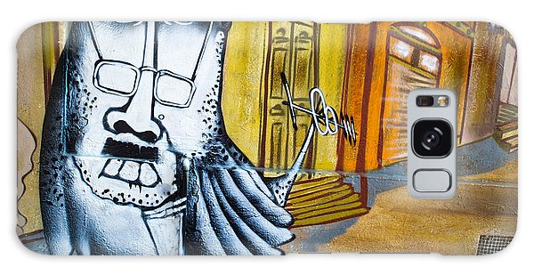 Street Art Valparaiso Galaxy Case