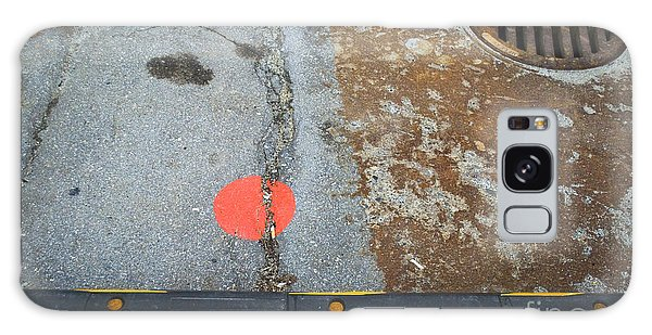 Street Markings  Galaxy Case