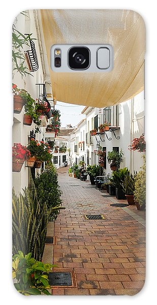 Street Of Benalmadena  Galaxy Case
