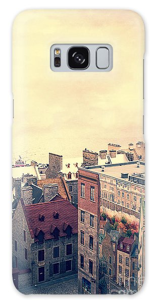 Quebec City Galaxy Case - Streets Of Old Quebec City by Edward Fielding