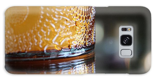 Studies In Glass ...amber  Galaxy Case by Lynn England