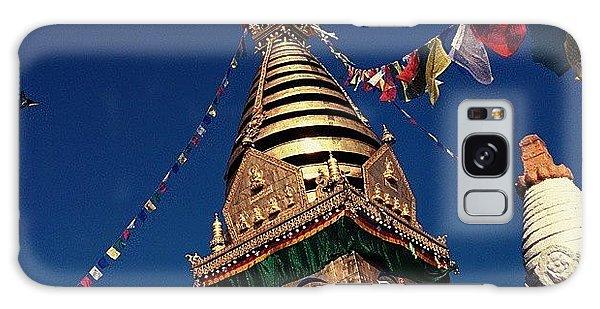 Architecture Galaxy Case - Stupa Swayambhunath by Raimond Klavins