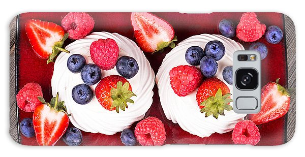 Summer Fruit Platter Galaxy Case by Jane Rix