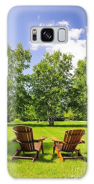 Adirondack Chair Galaxy Case - Summer Relaxing by Elena Elisseeva