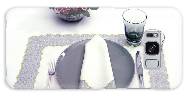 Summer Table Setting Galaxy Case