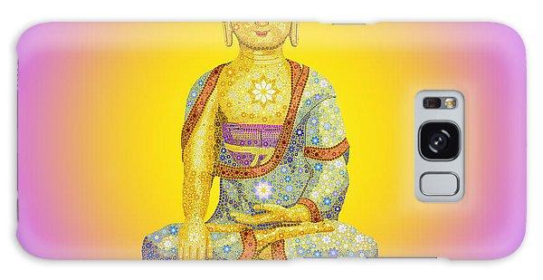 Buddhism Galaxy Case - Sun Buddha by Tim Gainey