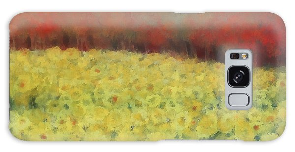 Sunflower Days Galaxy Case