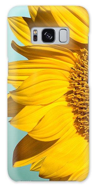 Sunflower Galaxy S8 Case - Sunflower by Mark Ashkenazi