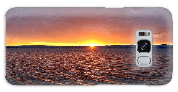Sunrise At Lake Khuvsgul Galaxy Case