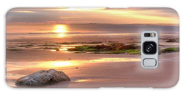 Sunrise At Nairn Beach Galaxy Case