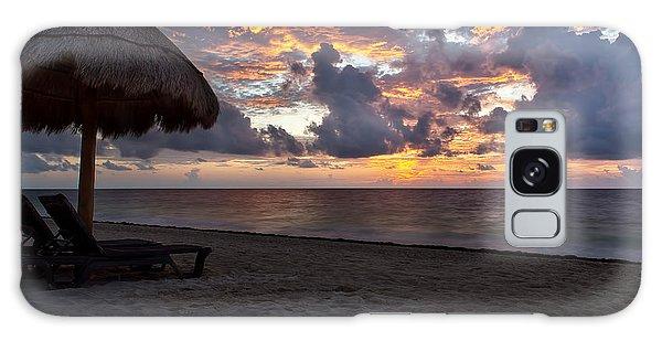 Sunrise In Cancun Mexico Galaxy Case