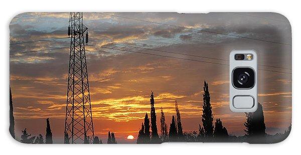 sunrise in Corfu 2 Galaxy Case