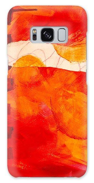 Wall Paper Galaxy Case - Sunrise by Nancy Merkle