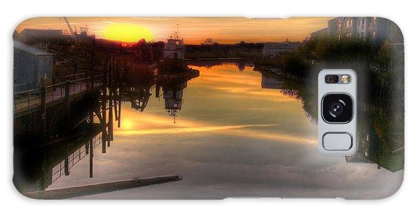 Sunrise On The Petaluma River Galaxy Case by Bill Gallagher