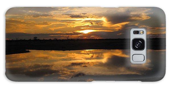 Sunrise Over Savuti Park Galaxy Case