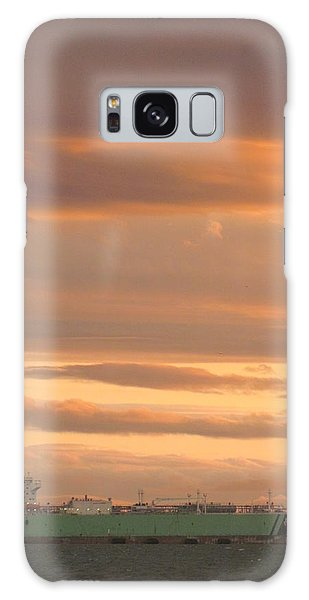 Sunrise Over Ship Galaxy Case