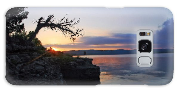 Sunrise Over Table Rock Lake Galaxy Case