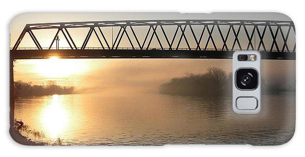 Sunrise Over The Ohio Galaxy Case
