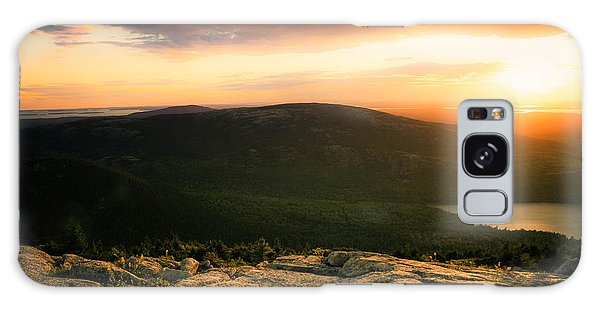 Sunset Acadia National Park Maine Galaxy Case by Trace Kittrell