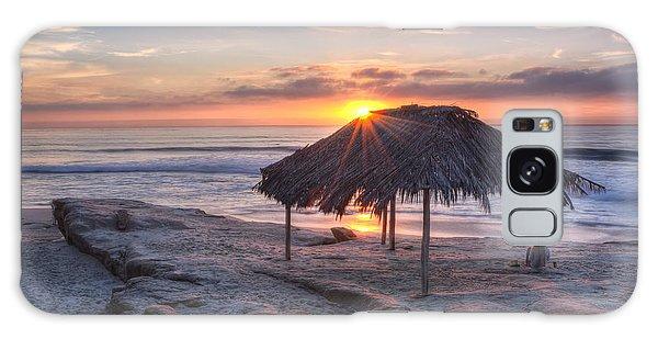 Sunset At Windansea Beach Galaxy Case