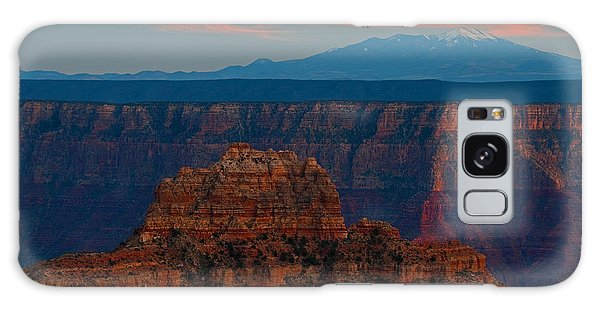 Sunset Grand Canyon Cape Royal San Franciso Peaks Galaxy Case