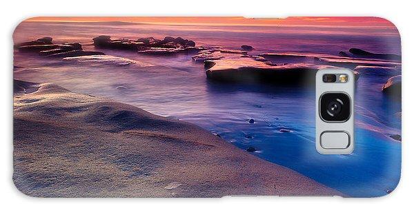 Sunset In La Jolla  Galaxy Case