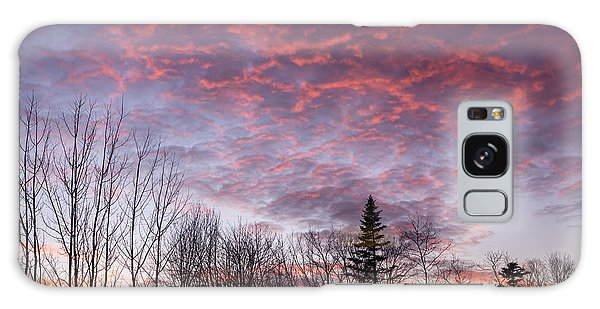 Sunset Jonesport Maine  Galaxy Case by Trace Kittrell