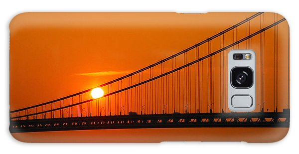 Verrazano Sunset Galaxy Case