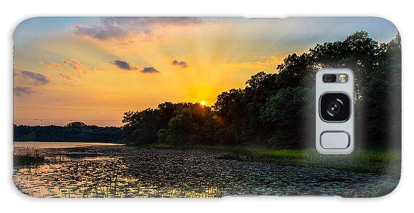 Sunset On Lake Masterman Galaxy Case