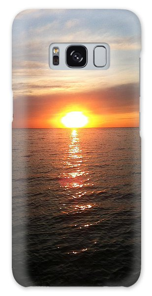 Sunset On The Bay Galaxy Case by Tiffany Erdman
