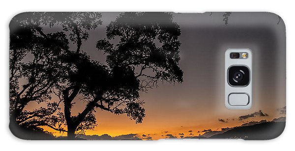 Sunset Over Copan Galaxy Case