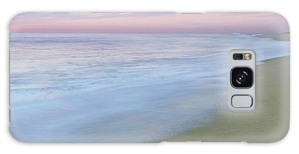 Breaking Dawn Galaxy Case - Surf On The Beach, Playa La Cachora by Panoramic Images