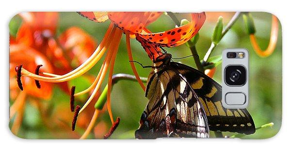 Swallowtail Butterfly Galaxy Case by Susan Crossman Buscho
