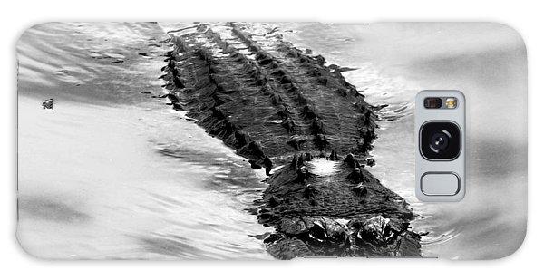 Swimming Gator Galaxy Case